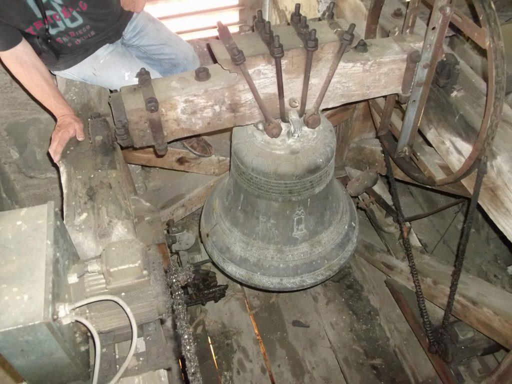 Petite cloche de l'église de Thairy