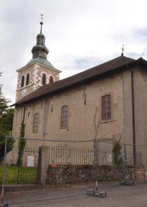 Bâtiment de l'église de Thairy