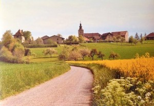 Eglise et village